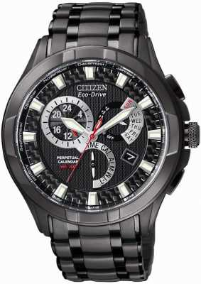 Citizen Calibre 8700 Eco-Drive Ion Plated Chronograph Alarm BL8097-52E