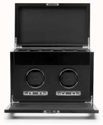 WOLF Savoy Black Double Winder With Storage 454670