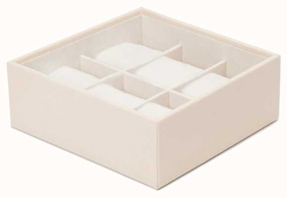 WOLF Stackable Watch Tray Cream 6Pc Standard 309753