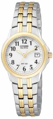Citizen Womens Silhouette Two Tone Eco-Drive EW1544-53A