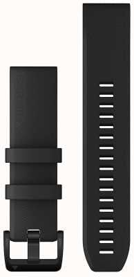 Garmin QuickFit 22 Strap Only Black With Black Stainless Steel 010-12901-00