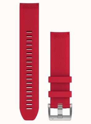 Garmin QuickFit 22 MARQ Strap Only Plasma Red Rubber Strap 010-12738-17