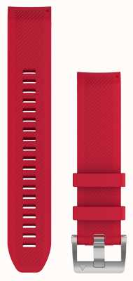 Garmin QuickFit 22 MARQ Strap Only Plasma Red Rubber Strap 010-12738-17