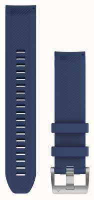 Garmin QuickFit 22 MARQ Navy Blue Rubber Strap 010-12738-18