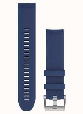 Garmin QuickFit 22 MARQ Strap Only Navy Blue Rubber Strap 010-12738-18