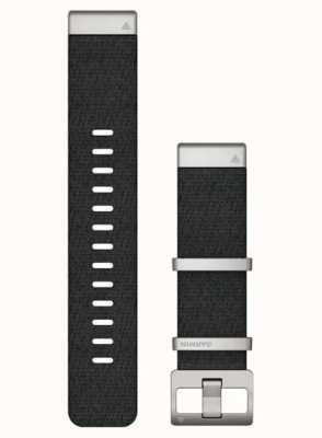 Garmin QuickFit 22 MARQ Strap Only Black Jacquard-weave Strap 010-12738-21