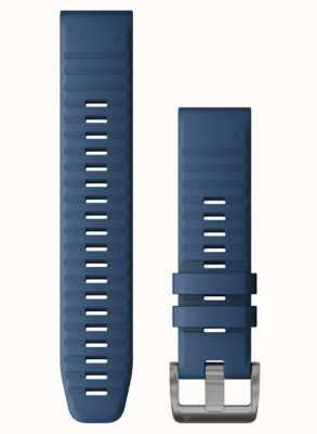 Garmin QuickFit 22 Blue Silicone Strap 010-12863-21