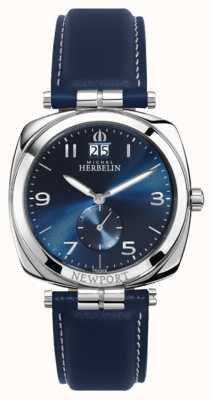 Michel Herbelin Newport Unisex Blue Dial / Strap 18264/AP15BL