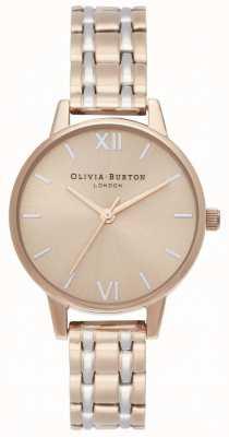 Olivia Burton | The England Collection | Two-Tone Steel Bracelet | OB16EN02