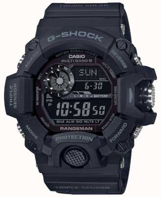Casio G-Shock Rangeman | Blackout Tough Solar Radio Controlled | GW-9400-1BER