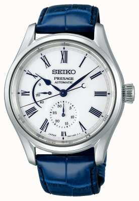 Seiko Presage Limited Edition Porcelain Dial | Blue Leather Strap SPB171J1