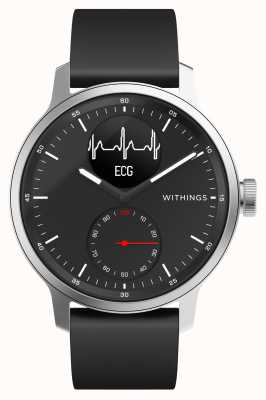 Withings Scanwatch 42mm Black - Hybrid Smartwatch with ECG HWA09-MODEL 4-ALL-INT