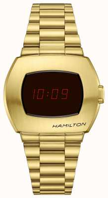 Hamilton PSR | Limited Edition | Gold PVD Steel H52424130