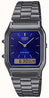 Casio Men's Vintage Stainless Steel Bracelet AQ-230EGG-2AEF