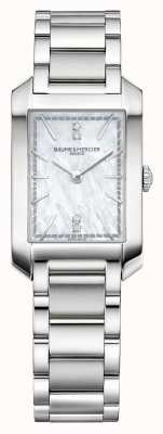 Baume & Mercier lady Hampton | Mother Of Pearl Dial | Stainless Steel M0A10474