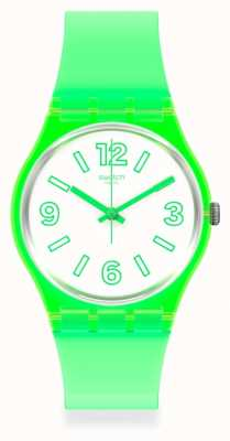 Swatch ELECTRIC FROG Unisex rubber strap watch GG226
