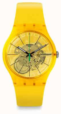 Swatch | New Gent | Bio Lemon Watch | SUOJ108
