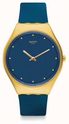 Swatch OCEAN SKIN | Blue Rubber Strap | Blue Dial SYXG108