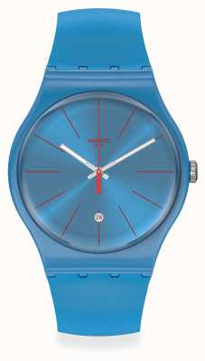 Swatch Originals | Lagoonazing | Blue Silicone Strap SUOS401