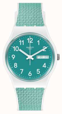 Swatch POOL LIGHT | Silicone Strap | Quartz GW714