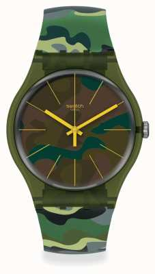 Swatch CAMOUFOREST | Originals collection SUOG114
