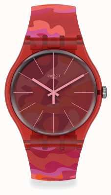 Swatch CAMOUFLASH | Unisex Swatch Camouflash Watch SUOR116