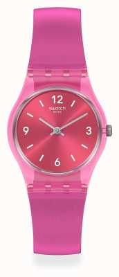 Swatch FAIRY CHERRY | | Essentials | Pink Silicone Strap LP158