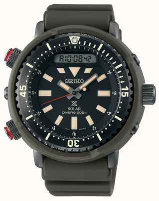 Seiko Prospex Arnie Re-Issue Safari Solar Diver's SNJ031P1