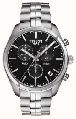 Tissot PR 100 | Chronograph | Black Dial T1014171105100
