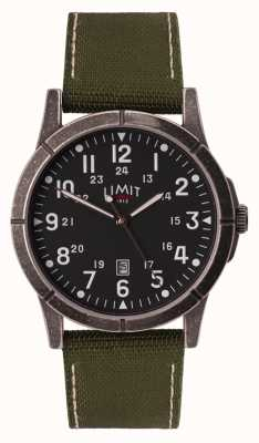 Limit Men's Green Canvas Strap | Black Dial | Alloy Case 5790.01