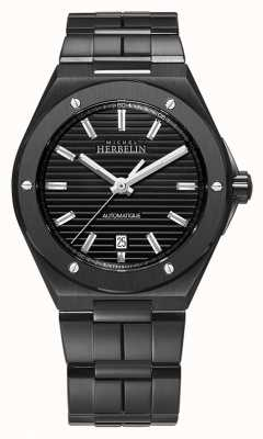 Michel Herbelin Men's Cap Camarat | Automatic | Black Steel Bracelet 1645/BN14