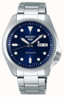 Seiko 5 Sport | Automatic Watch | Blue Dial | Stainless Steel Bracelet SRPE53K1