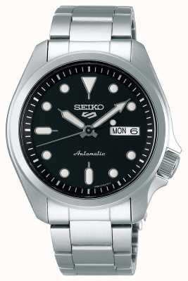 Seiko Men's 5 Sports Automatic Watch | Black Dial SRPE55K1