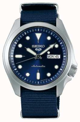 Seiko Men's 5 Sports Automatic Watch | Blue NATO SRPE63K1