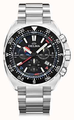 Delma Oceanmaster Quartz Chronograph | Stainless Steel Bracelet 41701.678.6.038