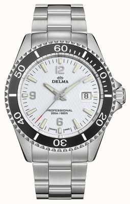 Delma Santiago Quartz | Stainless Steel Bracelet | White Dial 41701.562.6.014
