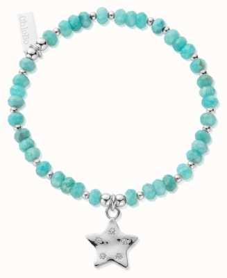 ChloBo Quinary Star | Amazonite Bead Bracelet SBA3027