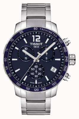 Tissot Quickster Blue Dial Chronograph T0954171104700