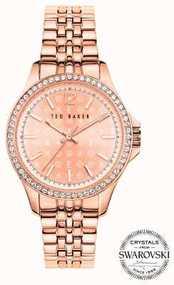 Ted Baker | Women's | Nicolya | Rose Gold Steel Bracelet | Rose Gold Dial | BKPNIF903