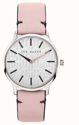 Ted Baker Women's Poppiey | Pink Leather Strap | Silver Dial BKPPOF903