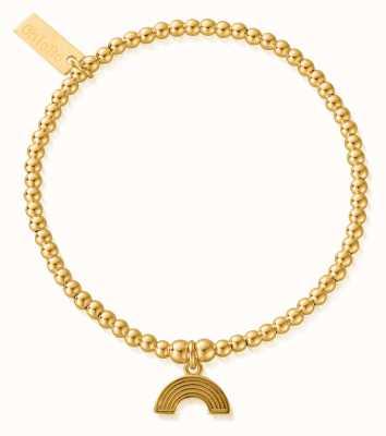 ChloBo Cute Charm Rainbow Bracelet Gold Plated GBCC3070