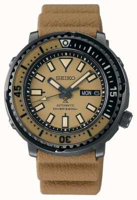 Seiko Prospex Street | Men's Brown Silicone Strap | Brown Dial SRPE29K1