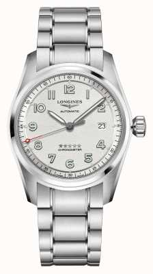 Longines | Spirit | Men's | Swiss Automatic | Stainless Steel L38104736