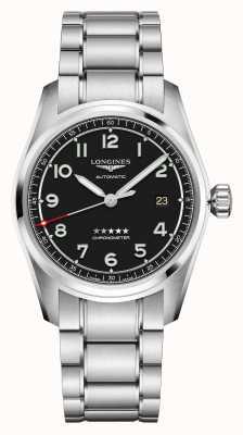 Longines Spirit | Men's | Swiss Automatic | Stainless Steel Bracelet L38104539