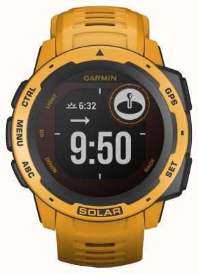 Garmin Instinct Solar GPS Sunburst Rubber Strap 010-02293-09