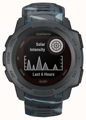 Garmin Instinct Solar GPS Surf Edition Pipeline Rubber Strap 010-02293-07