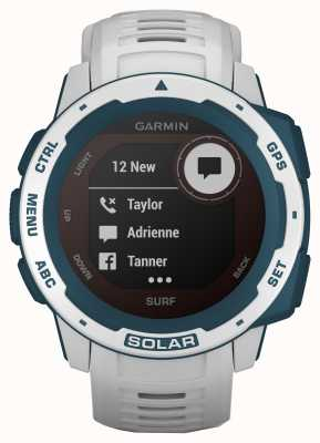 Garmin Instinct Solar GPS Surf Edition Cloudbreak Rubber Strap 010-02293-08