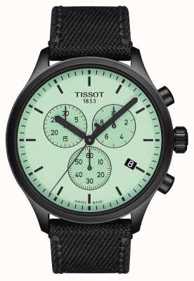 Tissot Mens | Chrono XL | Green Dial | Black Fabric Strap T1166173709100