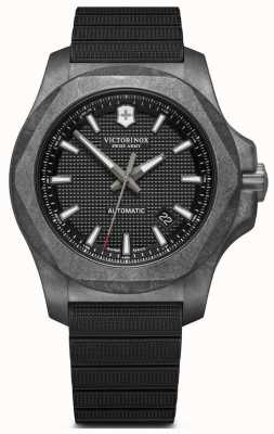 Victorinox Swiss Army INOX | Carbon | Automatic | Black Rubber Strap 241866.1