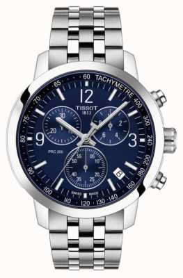 Tissot PRC 200 | Chronograph | Blue Dial | Stainless Steel Strap T1144171104700